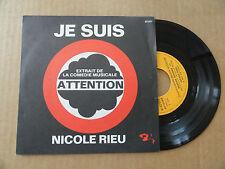 """DISQUE 45T EXTRAIT DE LA COMEDIE MUSICALE  """" ATTENTION """""""