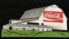 COUNTRY HARMONY COCA COLA COUNTRY BARN WITH SILO AND COWS COK12 SHELIA'S