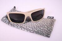 Oakley FUEL CELL OO9096-78 60-19 130 Sonnenbrille Brille in beige creme - gut -