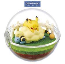 RE-MENT Pokemon Terrarium Collection Vol 4 Poke Ball Case Figure Mareep Pikachu