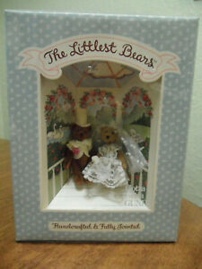 Vintage The Littlest Bears Bride & Groom 7009 Bears Gotta Getta GUND NIB 1994