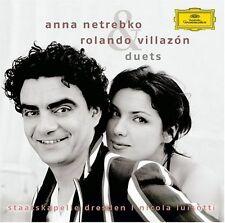 Rolando Villaz n, Anna Netrebko - Duets [New CD]