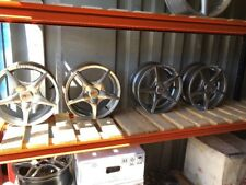 SET OF WOLFRACE ALLOY WHEELS. EX DISPLAY 6.5J X 15. PCD 5 X 115
