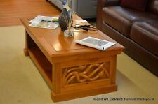 Coffee Table Vine Hand Carved Hardwood Art Nouveau