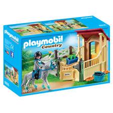 PLAYMOBIL COUNTRY CHEVAL stable avec Appaloosa 6935 nouveau