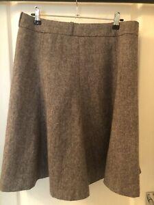 Women's Brown H&M Skirt Size 14 (40)