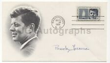 Pamela Turnure - Jacqueline Kennedy's Press Secretary - Signed JFK FDC