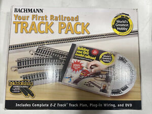 HO SCALE BACHMANN #44596 LAYOUT NICKEL SILVER E-Z TRACK PACK