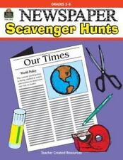 Newspaper Scavenger Hunts by Tom Burt (1998, Paperback) teacher reproducibles