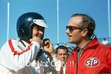 Jim Clark and Colin Chapman Lotus Indianapolis 500 Portrait Photograph