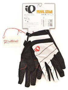 Pearl Izumi Women Veer Full Finger Cycling Gloves LARGE Black MTB Mountain Bike