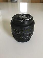 Nikon 2137 AF Nikkor 50 Mm F/1.8 D FX Full Frame Prime Lens For Nikon DSLR