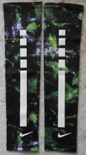 Nike Youth Pro Graphic Elite Arm Sleeves 2.0 Black/Electric Green/White - L/Xl