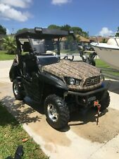 2019 COLEMAN HISUN UTV 500 4X4 LOADED WITH ALL OPTIONS AND 3500 LB. TRAILER
