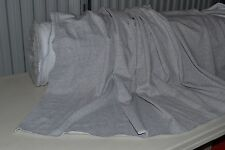 "Heather Gray Premium Sweatshirt Fleece 80 Cotton 20 Poly 60"" Wide Fabric by Yard"