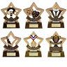 Engraved School Achievement Awards / Trophies - Spelling, Drama, Attendance