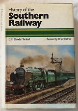 History of the Southern Railway by C. F. Dendy Marshall and R. W. Kidner
