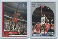 x2 Rare Michael Jordan cards wearing jersey #12 Valentines Day theft in Orlando!