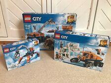 NEW - LEGO City Arctic BUNDLE Sets 60192 - 60194 - 60195 - BNIB + Free P&P (L2)