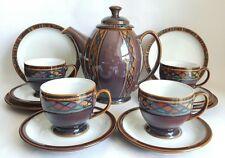 """Vintage DENBY """"Shiraz"""" TEA SET"""