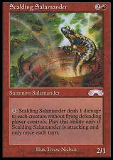 MTG SCALDING SALAMANDER - SALAMANDRA USTIONANTE - EX