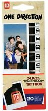 One Direction 'Nail Logo' Temporary Tattoos [Unisex Accessories] Brand New Gift