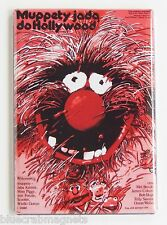 Muppet Movie (Poland) FRIDGE MAGNET (2.5 x 3.5 inches) movie poster polish