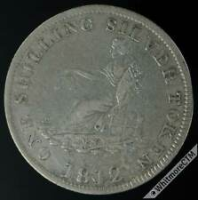 More details for 19th century shilling leeds 31 1812 arms. john smalpage & s lumb. seated female