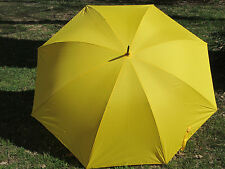 Yellow Gold School Crossing Guard Multi-purpose Golf Umbrella 68 Inch Jumbo
