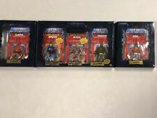 Masters Of The Universe 5 Pack Commemorative Series II 2001 MOTU Figure Set WOW