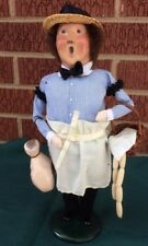 Byers Choice Carolers 1995 Man Butcher with Ham