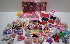 Mattel KELLY BARBIE'S LITTLE SISTER DOLLS FURNITURE CLOTHES SHOES LOT SOME NIP