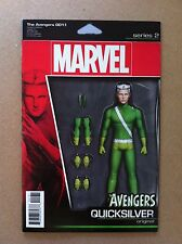 "AVENGERS (2016) #1.1 QUICKSILVER ""ACTION FIGURE"" VARIANT COVER NM COMIC BOOK"