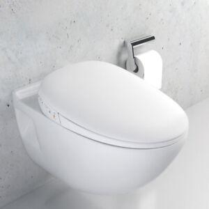 Uclean Whale Spout Bidet Smart Toilet Seat Pro Air Dryer with Remote Cont