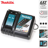 Makita Genuine DC18RC 14.4-18V Compact Li-Ion Battery Charger 240V