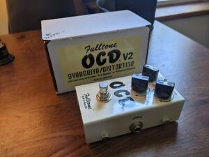 Fulltone OCD V2 distortion/overdrive pedal original box
