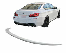 REAR BOOT TRUNK LID SPOILER BMW F10 F18 M5 M550d LOOK LIP WING ABS