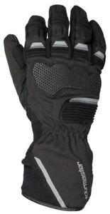 New 2021 Tourmaster Tour-Tex Mens Motorcycle Gloves, Black, Waterproof, Large