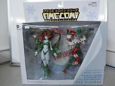 Ame-Comi Holiday Posion Ivy & Harley Quinn PVC Figure Set Heroine Series Sealed