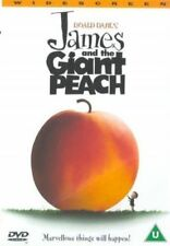 JAMES AND THE GIANT PEACH ROALD DAHL JOANNA LUMLEY FOX UK REGION2 DVD L NEW