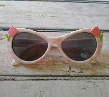 Gymboree Tulip Garden little girls sunglasses 2-4yrs pink white gingham design