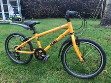 "Kids orange 55 Frog Bike with 20"" wheels. Great condition."