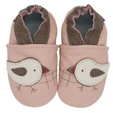 carozoo chicky pink 3-4y soft sole leather baby shoes