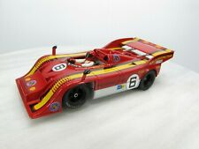 PORSCHE 917/10 Slot Car FLY CAR MODEL 1/32 - #6 RED - Loos Gelo Shell Gas - Used