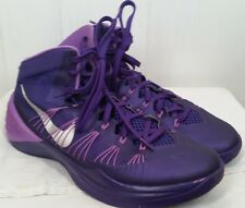 Nike Men's zoom Hyperdunk 2013 Court Purple Basketball Shoes size 12