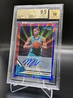 2019/20 PANINI DONRUSS RATD ROOKIE SIGNATURES RED & BLUE LASER PJ WASHINGTON