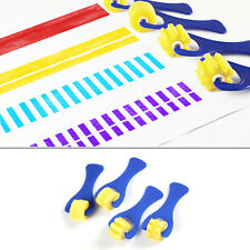 4Pcs Mini Sponge Paint Roller DIY Kids Child Art Painting Tool Toy Preschool New