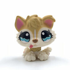 LPS toys Littlest Pet Shop dog PUPPY dog #1013 yellow dog Collection for Girl's