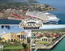 Jamaica - FALMOUTH - Travel Souvenir Fridge Magnet