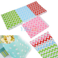 New 25Pcs Sweet Candy Paper Bags For Wedding Birthday Christmas Party Favor Gift